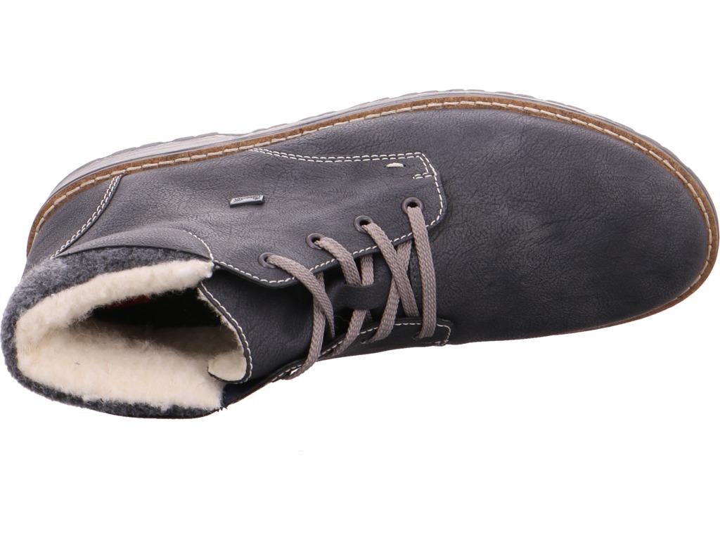 Billig gute Herren Qualität Rieker Herren gute NV Stiefel grau 4f333d