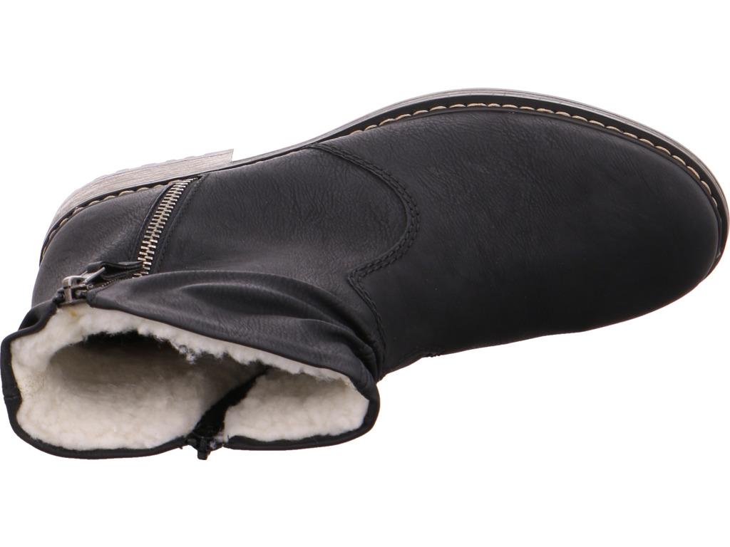 Rieker Damen  Stiefel schwarz