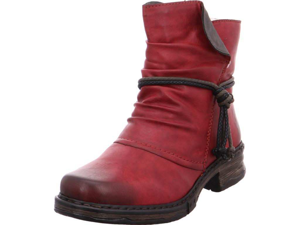 Rieker Damen  Stiefel rot