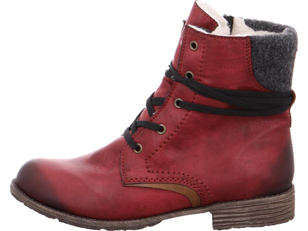 Rieker Damen Stiefel NV Stiefel Damen rot 8d597d