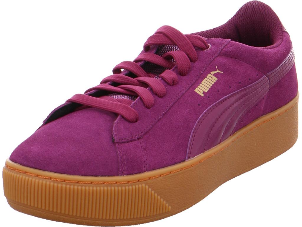 Los últimos zapatos de descuento para hombres y mujeres Descuento por tiempo limitado Puma Damen NV Halbschuh rot