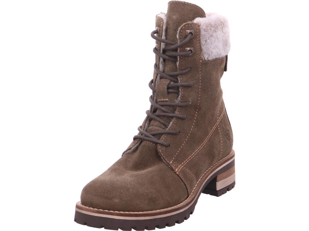 Tamaris Damen Winter Stiefel Boots Stiefelette warm Schnürer