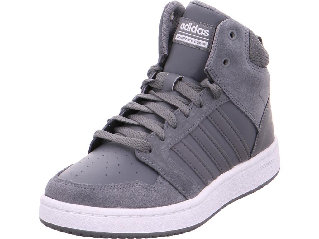 Zapatos especiales con descuento Adidas Herren CF SUPER HOOPS MID  grau
