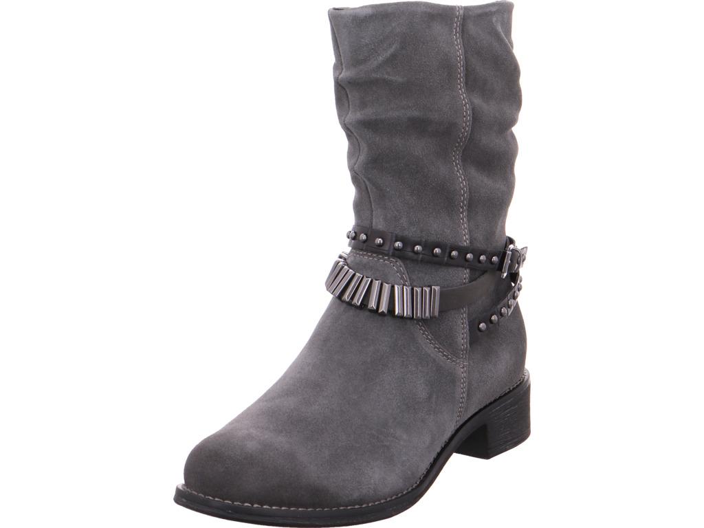 Marco Tozzi Damen Stiefel Da.-Stiefel Stiefel Damen grau 20f750