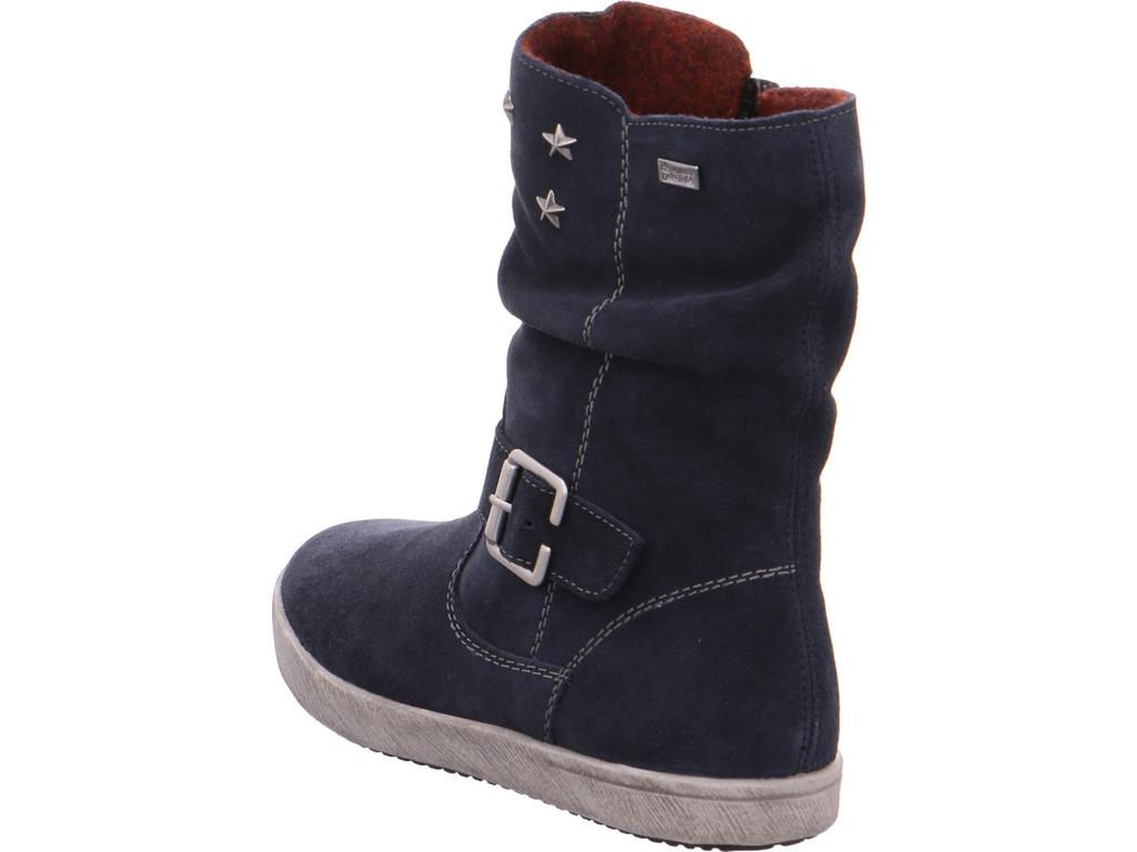 Details zu Rieker Mädchen Stiefel blau