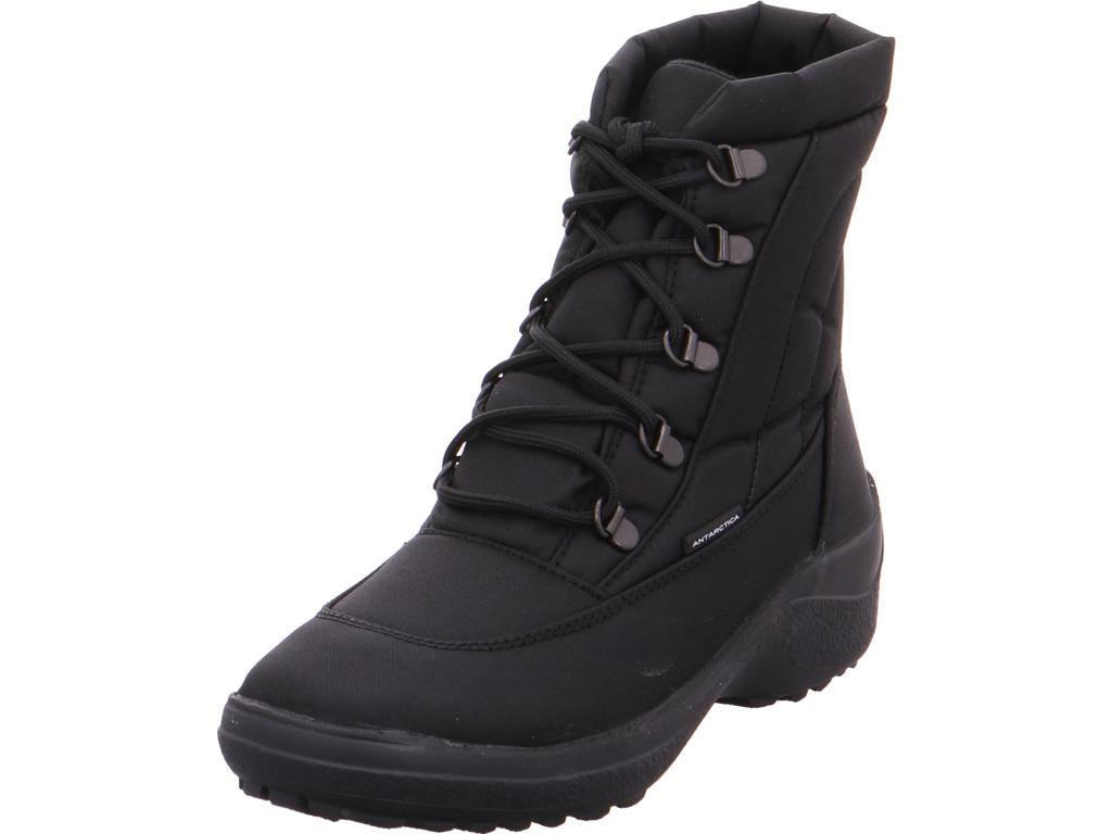 Antarctica Damen Stiefel schwarz mit Warmfutter Stiefel schwarz Stiefel d9ca4e