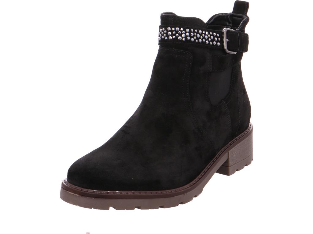 Jenny V ara señora botas NV negro