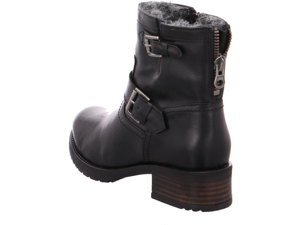 Details zu BUFFALO Damen SAUVAGE PRETO 01 Winter Stiefel Boots Stiefelette warm zum