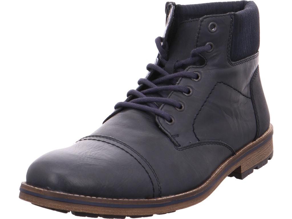 Billig hohe Qualität Rieker Damen  Stiefel blau