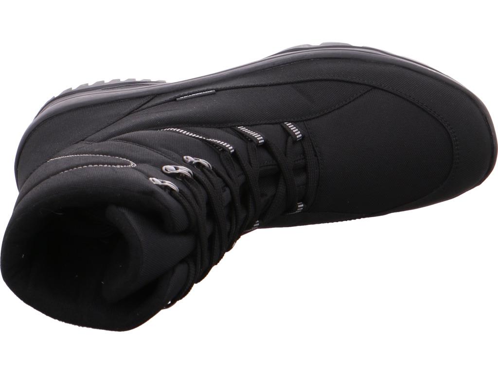 Billig hohe Qualität bold Herren  Stiefel schwarz