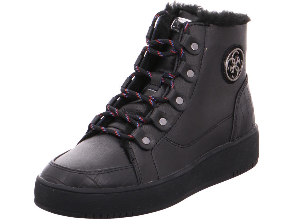 489bb6818cb01a Das Bild wird geladen GUESS-Damen-Stiefel-schwarz