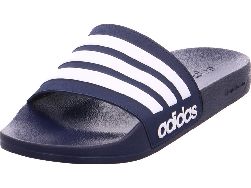 Adidas Damen CF ADILETTE Badeschuhe blau