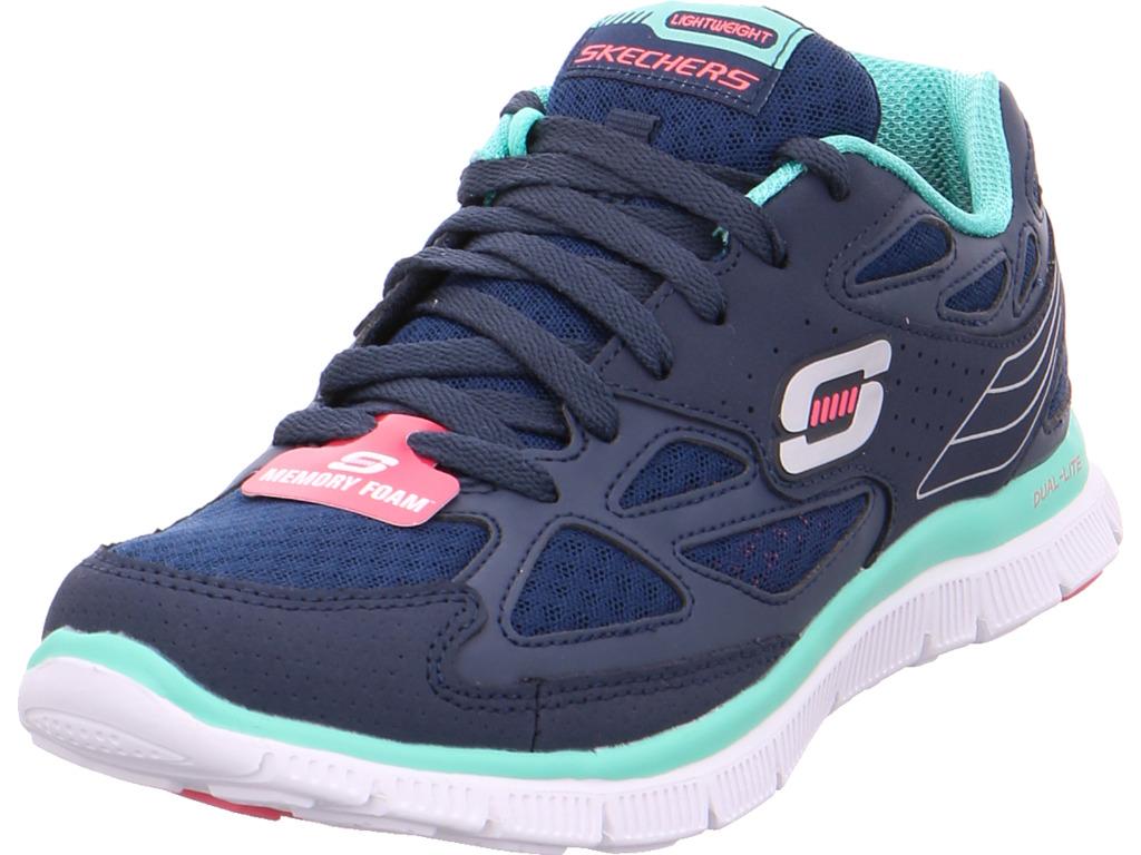 Zapatos de mujer baratos zapatos mujer de mujer zapatos Descuento por tiempo limitado SKECHERS Damen  Halbschuh blau 464015