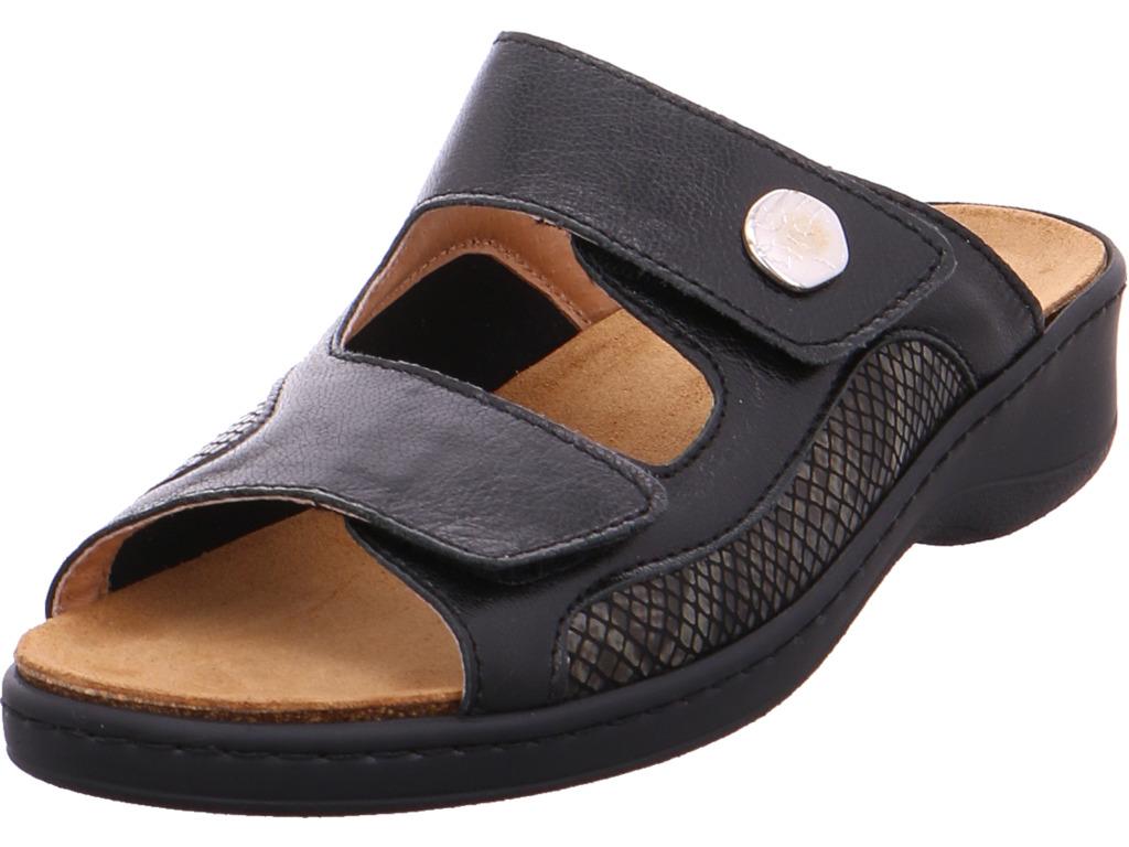 Los zapatos más populares para hombres y mujeres Descuento por tiempo limitado Cosmos Damen  Pantolette schwarz