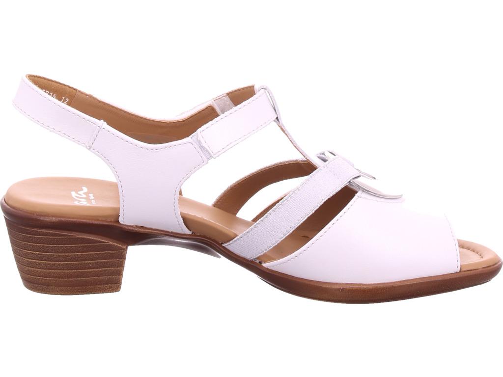 dfa59c95b6ea04 ara-Damen-LUGANO-Sandale-Sandalette-weiss Indexbild 4