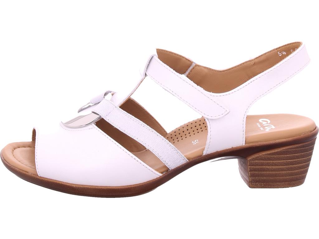 0694574ffb801a ara-Damen-LUGANO-Sandale-Sandalette-weiss Indexbild 6